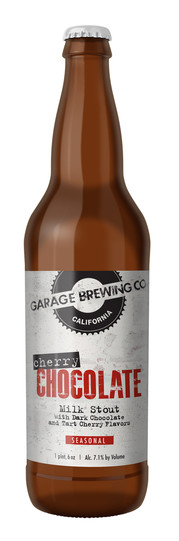 Garage Brewing Co Cherry Chocolate Milk Stout