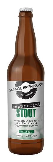 Garage Brewing Co Peppermint Stout