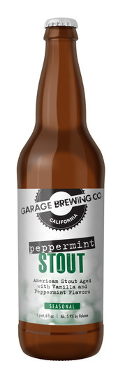 Garage Brewing Co Peppermint Stout