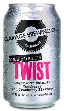 Garage Brewing Co Raspberry Twist Lager