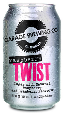 Garage Brewing Co Raspberry Twist Lager