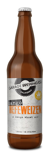 Garage Brewing Co Mango Hefeweizen