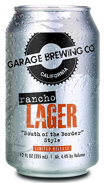 Garage Brewing Co Rancho Lager