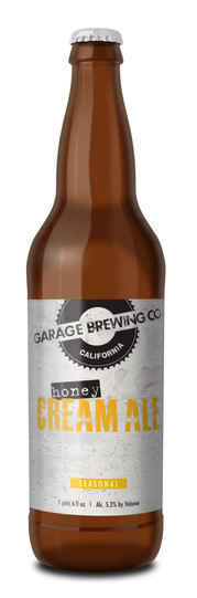 Garage Brewing Co Honey Cream Ale