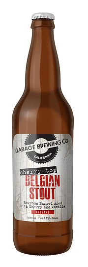 Garage Brewing Co Cherry Top Belgian Stout