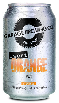 Garage Brewing Co Sweet Orange Wit