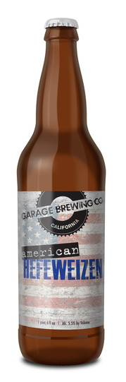 Garage Brewing Co American Hefeweizen