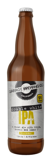 Garage Brewing Co Double White IPA