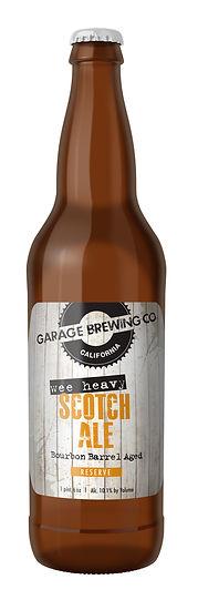 Garage Brewing Co Wee Heavy Scotch Ale
