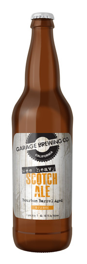 Garage Brewing Co Wee Heavy Scotch Ale