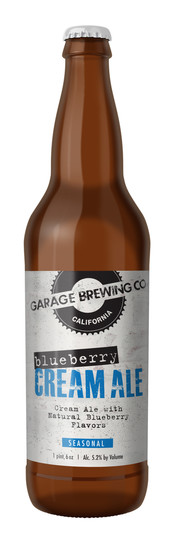 Garage Brewing Co Blueberry Cream Ale