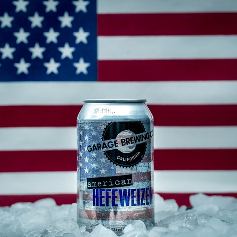 American Hefeweizen brought to you by Garage Brewing Co, a brewery in Temecula, CA