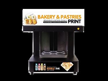 Coffee Print เครื่องพิมพ์ฟองนมพิมพ์ latte art สามารถพิมพ์บนเค้ก ขนม และอาหารได้ใช้คู่กับหมึกสีผสมอาหารกินได้