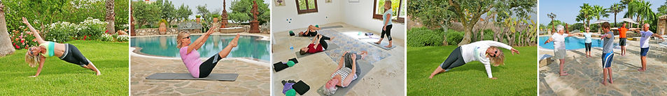 Pilates tuition with Candice