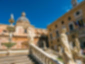 Fantastic Palermo statues