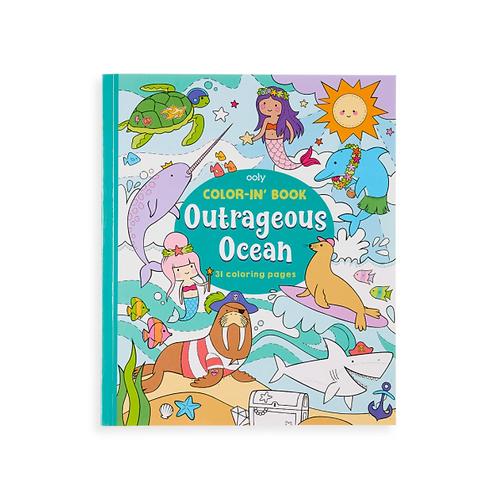 Målarbok Outrageous Ocean