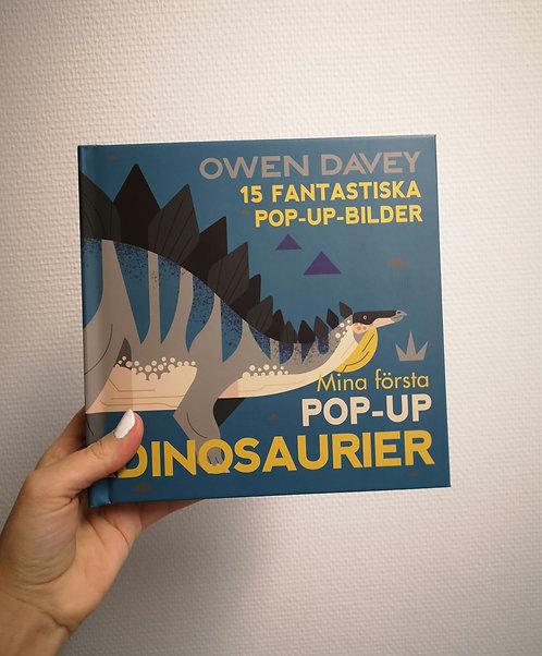 Mina första pop-up dinosaurier