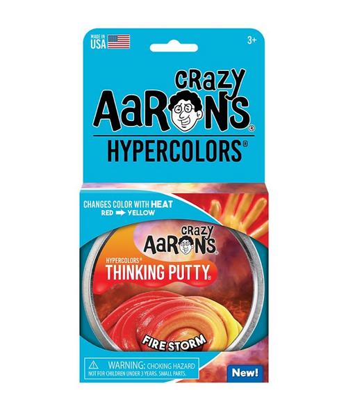 Leklera som ändrar färg