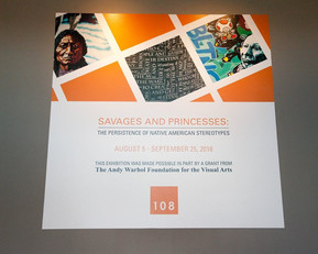 Cover of the exhibits catalogue