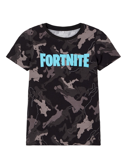 Fortnite, svart t-shirt