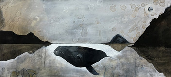 The Dream of a Right Whale at the center of the Milky Way