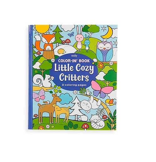 Målarbok Little cozy critters
