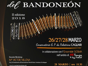 EUROPEAN DAYS OF BANDONEÓN (II edition)