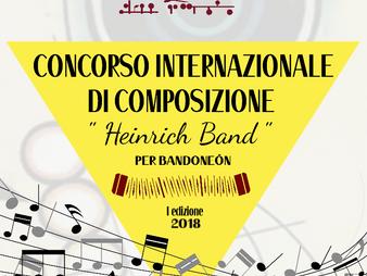 """HEINRICH BAND"" COMPOSITION CONTEST FOR BANDONEÓN"