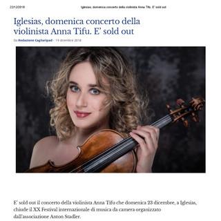 XX Festival Internazionale di Musica da Camera (Cagliaripad)