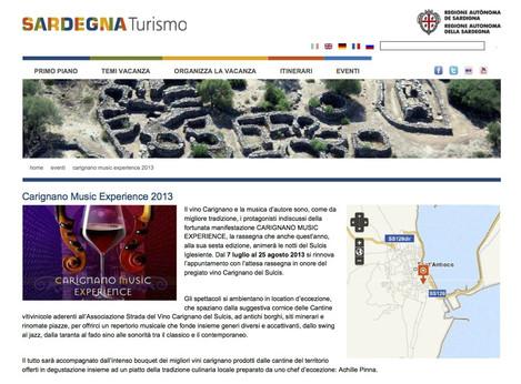 Luglio, Carignano Music Experience (Sardegna Turismo)