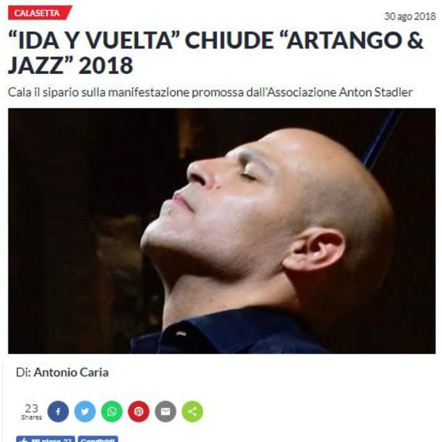 ArTango & Jazz Festival (Sardegna Live)