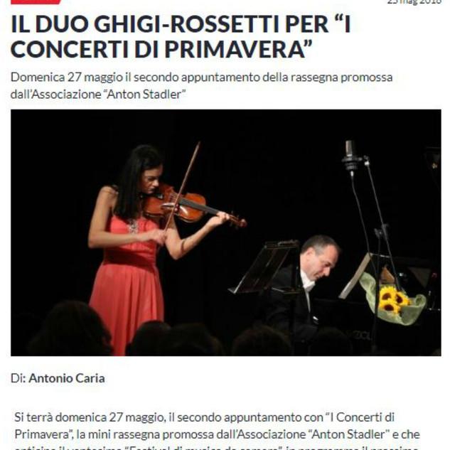 Concerti di Primavera (Sardegna Live)