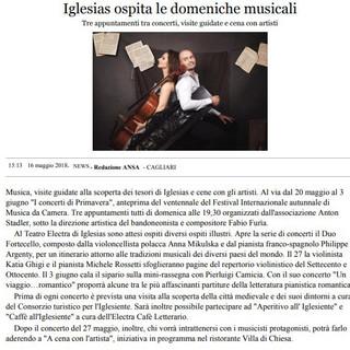 Concerti di Primavera (ANSA)