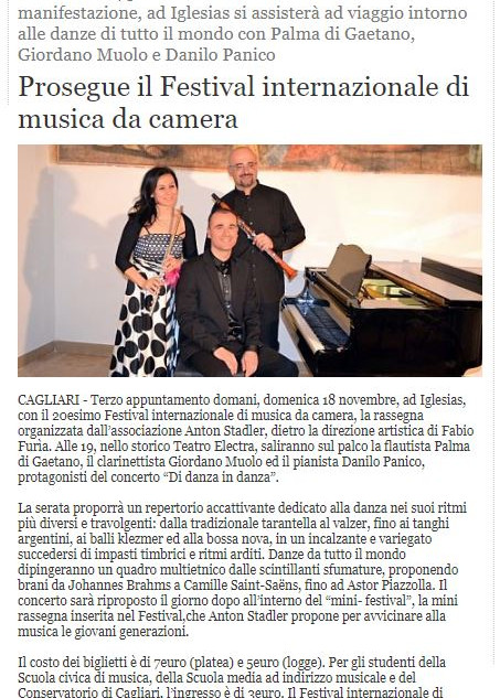 XX Festival Internazionale di Musica da Camera (Alguer)