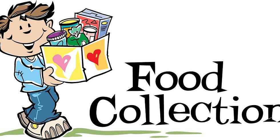 Food Collection for YEG Food Bank