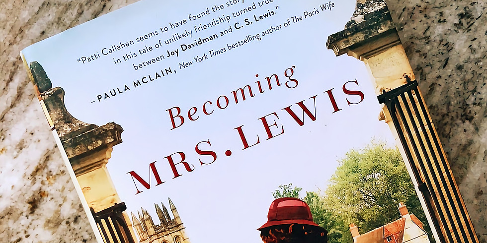 """Book Club - """"Becoming Mrs. Lewis"""""""
