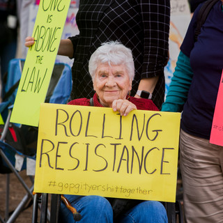 Rolling Resistance - Women's March ATX Rally at the Capitol