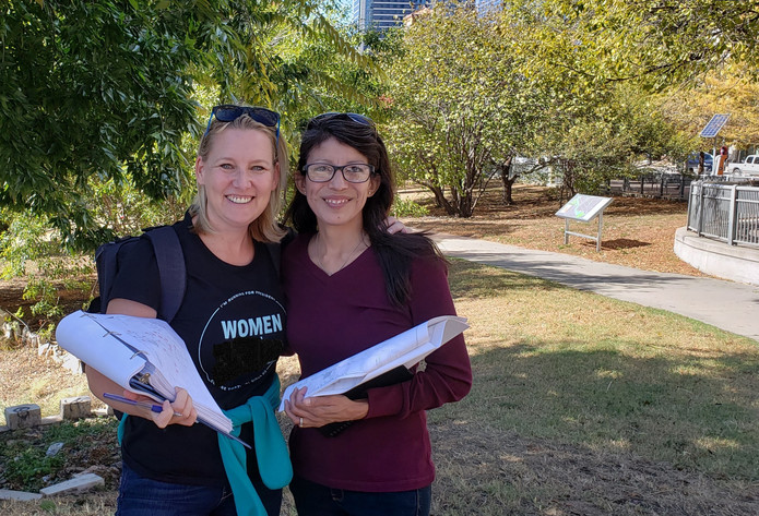 Co-Chairs Women's March ATX