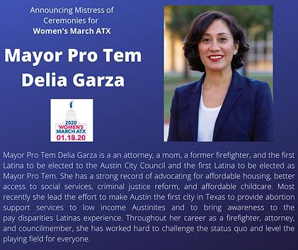 Delia Garza womens march texas atx.png