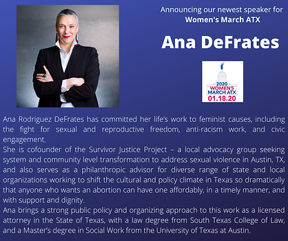 Ana DeFrats womens march texas atx.png