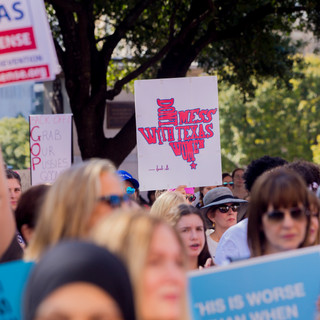 Texas Signs - Women's March ATX Rally at the Capitol