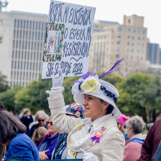 Women's Suffrage - Women's March ATX Rally at the Capitol