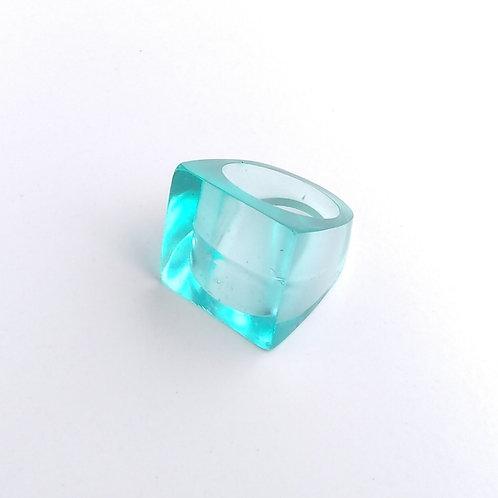 anel PLANO azul