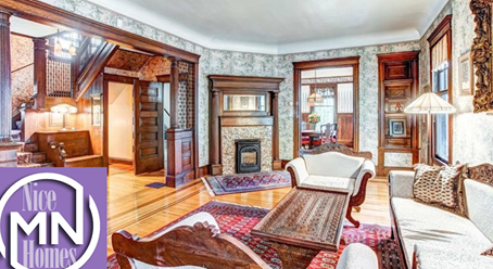 Minnesota Nice Homes: Former Minneapolis B&B is full of Victorian charm