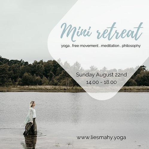 Mini retreat