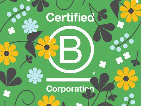 better. by BlueStar Is A Certified B Corporation®!