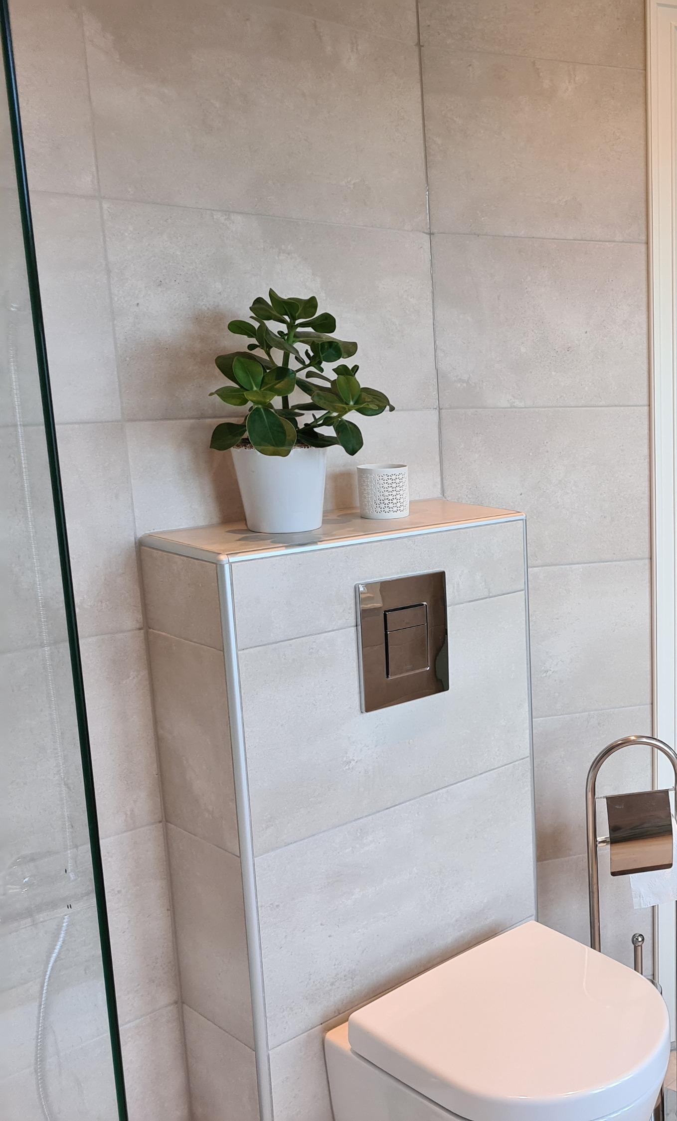Innbygget toalettkasse