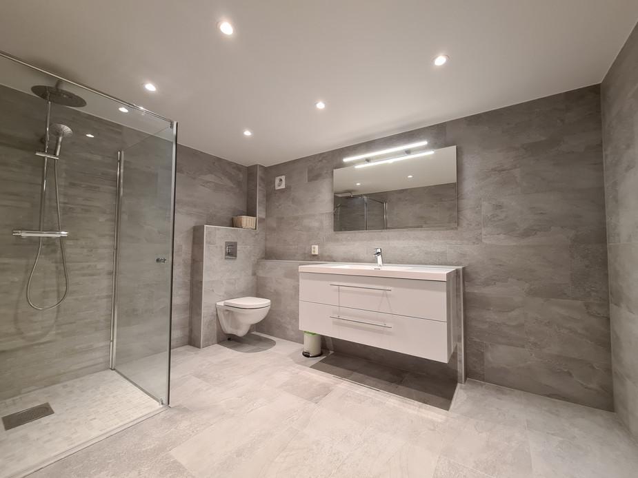 Lekkert og minimalistisk bad