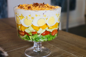 Easy Spring Salad with Ranch Dressing