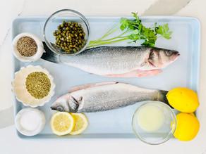 How to Grill and Filet Fresh Branzino | Lavraki